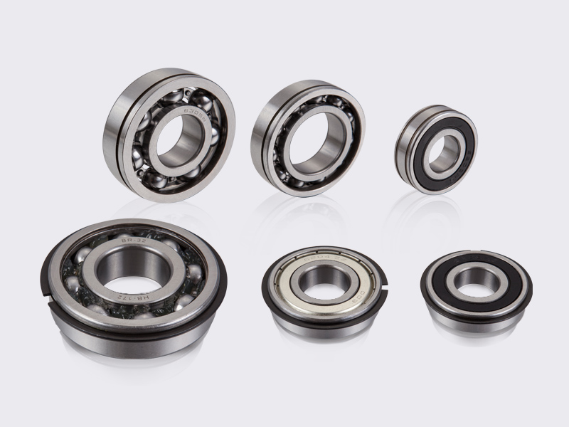 Bearings with N, NR